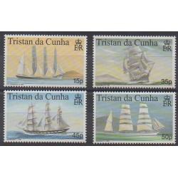 Tristan da Cunha - 1998 - Nb 615/618 - Boats