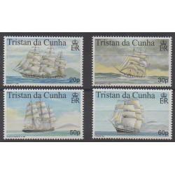 Tristan da Cunha - 1999 - Nb 619/622 - Boats