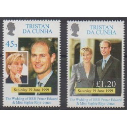 Tristan da Cunha - 1999 - Nb 627/628 - Royalty