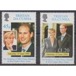 Tristan da Cunha - 1999 - No 627/628 - Royauté - Principauté