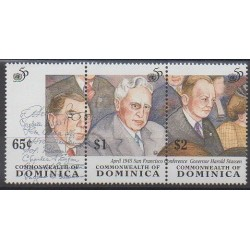 Dominique - 1995 - No 1778/1780 - Nations unies