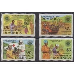 Dominique - 1983 - No 762/766 - Histoire