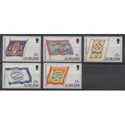 St. Helena - 1986 - Nb 433/437 - Flags