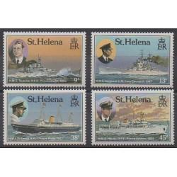 St. Helena - 1987 - Nb 462/465 - Boats