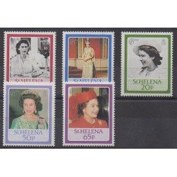 St. Helena - 1986 - Nb 438/442 - Royalty