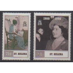 St. Helena - 1990 - Nb 525/526 - Royalty