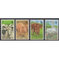 St. Helena - 1990 - Nb 517/520 - Mamals