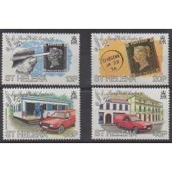 St. Helena - 1990 - Nb 521/524 - Philately