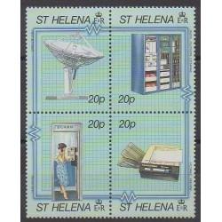 Sainte-Hélène - 1990 - No 527/530 - Télécommunications