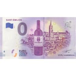 Euro banknote memory - 33 - Saint-Émilion - 2019-1
