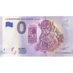 Euro banknote memory - 67 - La montagne des singes - 2019-4