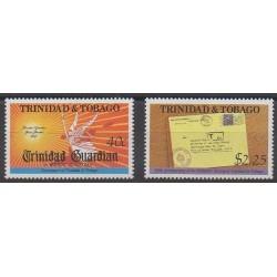 Trinidad and Tobago - 1992 - Nb 681/682 - Philately