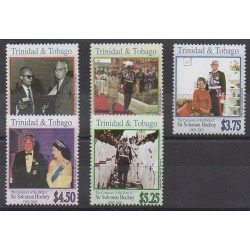 Trinidad and Tobago - 2005 - Nb 892/896 - Celebrities
