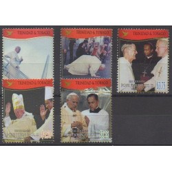 Trinidad and Tobago - 2006 - Nb 902/906 - Pope
