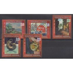 Trinité et Tobago - 2006 - No 911/915 - Histoire - Peinture