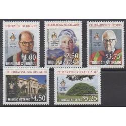 Trinité et Tobago - 2008 - No 947/951 - Histoire