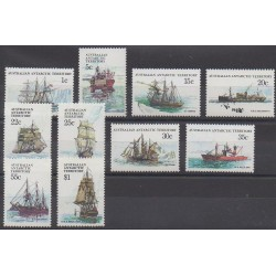 Australian Antarctic Territory - 1979 - Nb 37/46 - Boats