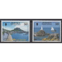 Jersey - 2004 - Nb 1147/1148 - Lighthouses - Tourism - Europa
