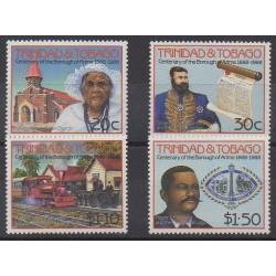 Trinité et Tobago - 1988 - No 598/601 - Histoire