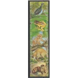 Trinité et Tobago - 1989 - No 622/626 - Animaux - Espèces menacées - WWF