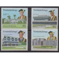 Trinité et Tobago - 1990 - No 643/646 - Monuments