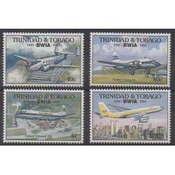 Trinité et Tobago - 1990 - No 647/650 - Aviation
