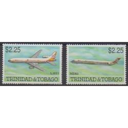 Trinité et Tobago - 1992 - No 679/680 - Aviation