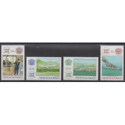 Trinidad and Tobago - 1988 - Nb 604/607 - Various Historics Themes
