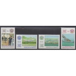 Trinité et Tobago - 1988 - No 604/607 - Histoire
