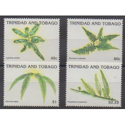 Trinidad and Tobago - 1991 - Nb 663/666 - Flora