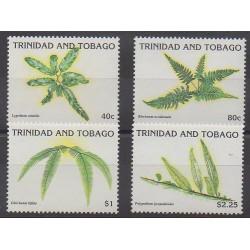 Trinité et Tobago - 1991 - No 663/666 - Flore