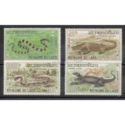 Laos - 1967- Nb 167/170 - Animals