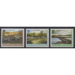 Falkland - 2000 - Nb 781/783 - Bridges