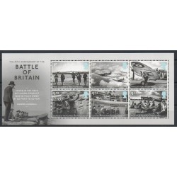 Great Britain - 2015- Nb 4180/4185 - Second world war