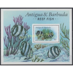 Antigua and Barbuda - 1987 - Nb BF 123 - Fishes