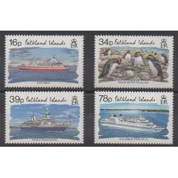 Falkland - 1993 - No 604/607 - Tourisme - Navigation