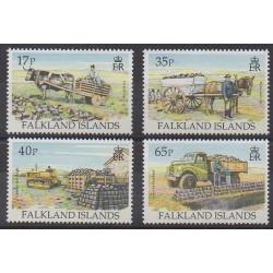 Falkland - 1995 - Nb 658/661 - Craft