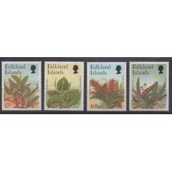 Falkland - 1997 - Nb 693/696 - Flora