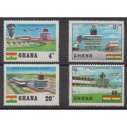 Ghana - 1970 - Nb 370/373 - Planes