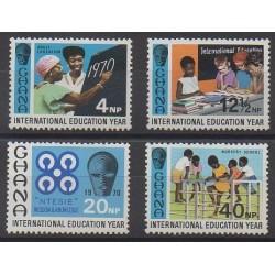 Ghana - 1970 - Nb 382/385 - Childhood