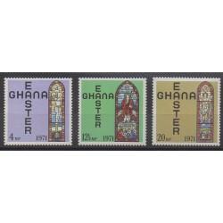 Ghana - 1971 - No 403/405 - Pâques