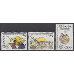 Ghana - 1987 - Nb 922/924