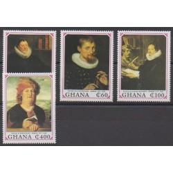 Ghana - 1990 - No 1166/1169 - Peinture