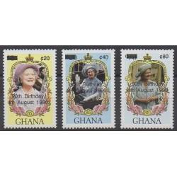 Ghana - 1990 - Nb 1177D/1177F - Royalty