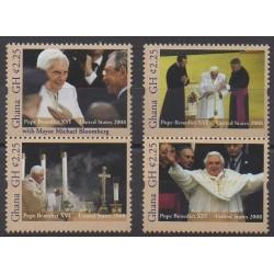 Ghana - 2013 - Nb 3497/3500 - Pope