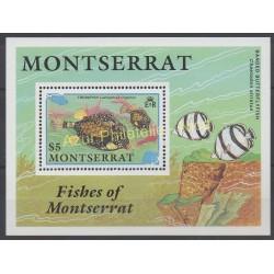 Montserrat - 1990 - No BF 57 - Poissons