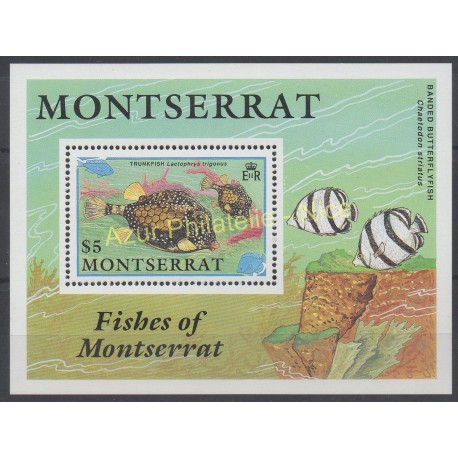 Montserrat - 1990 - Nb BF 57 - Fishes
