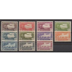 Senegal - 1935 - Nb PA1/PA11