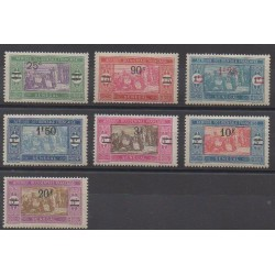 Senegal - 1924 - Nb 95/101 - Mint hinged