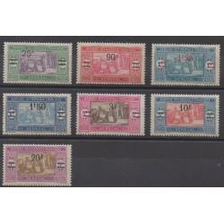 Sénégal - 1924 - No 95/101 - Neufs avec charnière